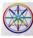 Diamond Rainbow Star Quantum Radiator