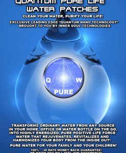 Pure Life Water Patches - Front